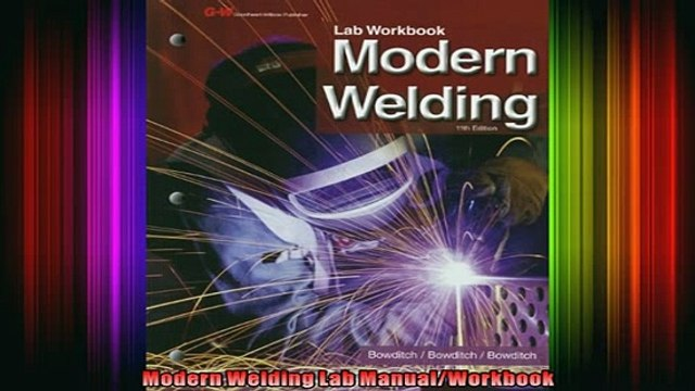 FAVORIT BOOK   Modern Welding Lab ManualWorkbook  FREE BOOOK ONLINE