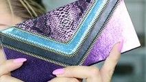 Glam Metallic Hijab Makeup with TRIPLE Winged Liner!