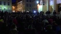 Evacuation des intermittents du spectacle au théâtre de l'Odéon