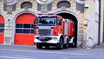 Wyjazd alarmowy 361[D]25 GCBA 12/60 Scania G480 + 363[D]60 SRChem Mercedes Benz - PSP Legnica