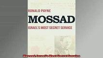 FREE PDF DOWNLOAD   Mossad Israels Most Secret Service READ ONLINE