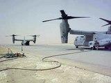 V-22 Osprey Loading, Landing, Take-Off