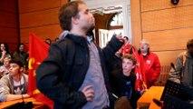 Amiens : occupation de la mairie par des manifestants