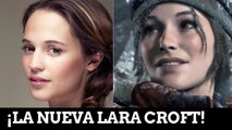 The Tomb Raider - Reacción al fichaje de Alicia Vikander como Lara Croft