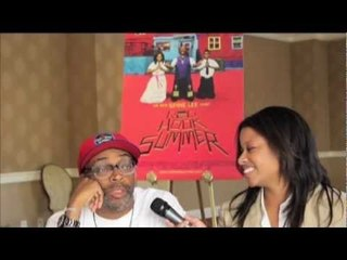 A Happy Spike Lee Discusses His 'Red Hook Summer'