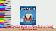 PDF  Copywriting Everything You Need To Know About Copywriting From Beginner To Expert Download Online