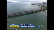 Queda de ciclovia no Rio de Janeiro deixa moradores de Florianópolis assustados