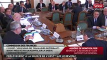 Audition Michel Sapin, Christian Eckert/Séance République numérique - Les matins du senat