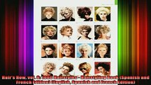 Downlaod Full PDF Free  Hairs How vol 6 1000 Hairstyles  Hairstyling Book Spanish and French Edition Full EBook