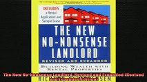 READ book  The New NoNonsense Landlord Revised and Expanded Revised and Expanded Edition  FREE BOOOK ONLINE