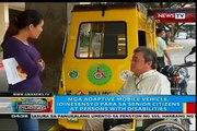 Mga adaptative de véhicule mobile, idinisenyo para sa des seniors, des personnes avec disabiliti