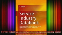 Service Industry Databook: Understanding and Analyzing Sector Specific Data Across 15 Nations