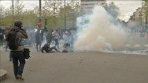 Mobilisation Loi Travail à Rennes : un jeune manifestant grièvement blessé a perdu son oeil - Le 29/04/2016 à 16h16
