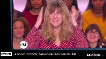 La Nouvelle Edition: Daphné Bürki prise d'un fou rire en parlant de sexe (Vidéo)