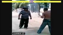 pelea de borrachos versión street fighter