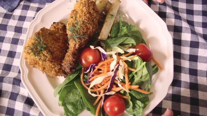 Southern Style Buttermilk Ranch Baked Chicken