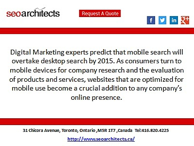 Mobile SEO Marketing – Blend Mobile Marketing  with Internet Marketing