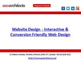 Website Design - Interactive & Conversion   Friendly Web Design | SEO Architects
