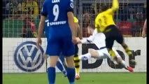 Borussia Dortmund vs. Paderborn 7 : 1; 28.10.15 DFB Pokal; Highlights & Goals