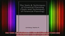 READ book  The Tools  Techniques of Financial Planning Tools and Techniques of Financial Planning Full EBook