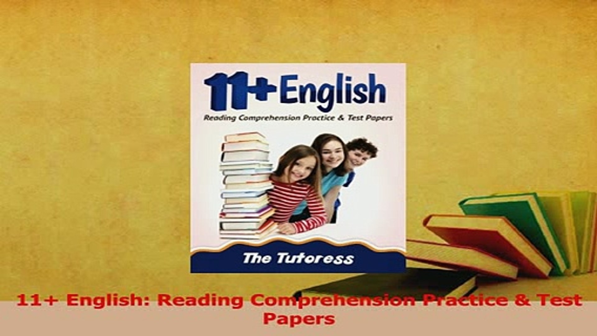 - PDF 11 English Reading Comprehension Practice Test Papers Read