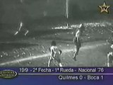 Gol de Ribolzi a Quilmes (Boca 1-Quilmes 0 19-09-76)