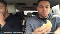 Eating Challenge 20 McDonalds Egg White McMuffin Challenge @hodgetwins