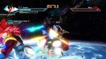 Dragon Ball Xenoverse: Super Saiyan 4 Vegito & Gogeta vs Beerus & Whis