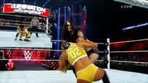 Nikki Bella vs paige vs Naomi HD(720p) Elimination Chamber 2015