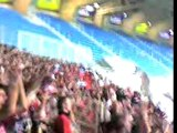 Nantes-Rennes 0-2 Stade vide 2000 Rennais qui chantent