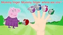 Peppa Pig Iron Man Finger Family \ Nursery Rhymes Lyrics