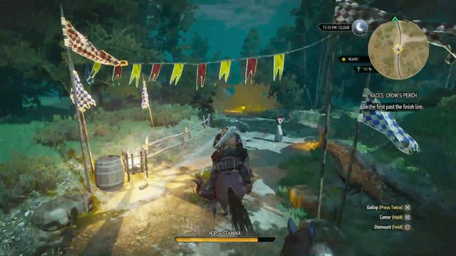 WITCHER 3 DEATH MARCH! WALKTHROUGH 195 - THE PLAY'S THE THING