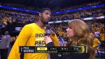Paul George Postgame Interview - Raptors vs Pacers G6 - April 29, 2016 - 2016 NBA Playoffs