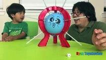 BOOM BOOM BALLOON Family Fun Balloon Pop Challenge Egg Surprise Toys Ryan ToysReview