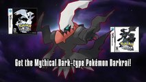 Get the Mythical Pokémon Darkrai! - Pokémon Black Version/Pokémon White Version