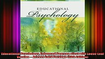 READ FREE FULL EBOOK DOWNLOAD  Educational Psychology Enhanced Pearson eText with LooseLeaf Version  Access Card Full Free