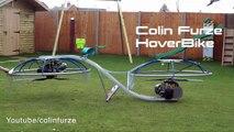 Une moto qui vole, l'hoverbike