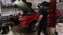 1968 Pontiac Firebird Open Header Startup