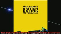 FREE PDF DOWNLOAD   Mick Walkers British Racing Motorcycles Redline Motorcycles  BOOK ONLINE