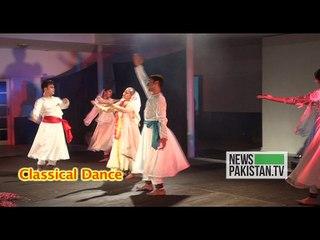 عالمی رقص کے دن پر کراچی میں پرفارمنس