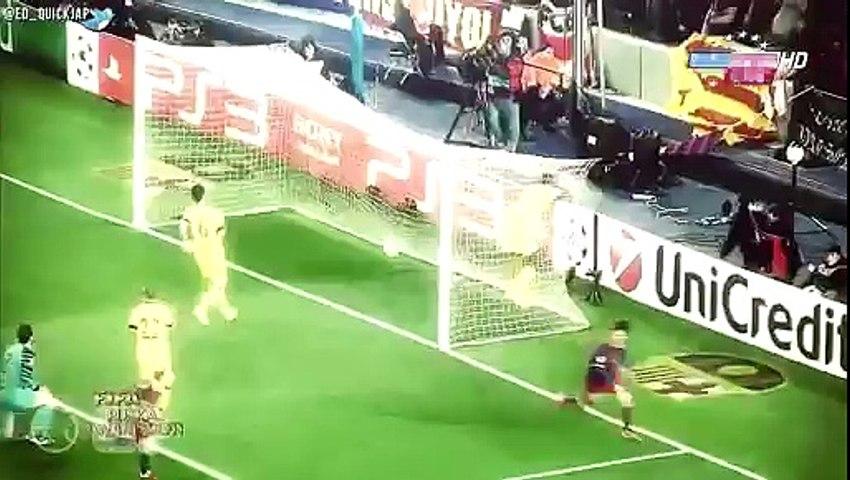 Messi vs neymar football skil