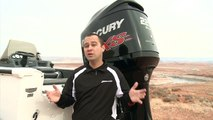 Mercury 250 OptiMax Pro XS Engine Test 2013- By BoatTest com