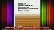 Full Free PDF Downlaod  Market Segmentation Conceptual and Methodological Foundations International Series in Full EBook