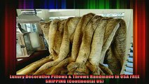 suitable use   Chinchilla Faux Fur Throw Blanket  Bedspread  Chinchilla Faux Fur  Beige Tan Goldish
