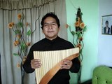 http;//www.perutreasure.com//THE SOUND OF SILENCE  PAN FLUTE 29 PIPES.
