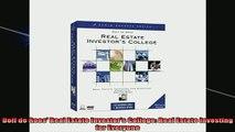 FREE EBOOK ONLINE  Dolf de Roos Real Estate Investors College Real Estate Investing for Everyone Free Online