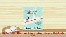 PDF  Christmas in Norway How the Norwegians Celebrate Jul  Read Online