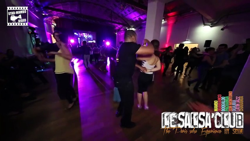 2015 - Jean-Claude & partner - social dancing @ LESALSA'CLUB Party - by Occo Style