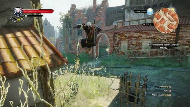 WITCHER 3 DEATH MARCH! WALKTHROUGH 196 - THE PLAY'S THE THING