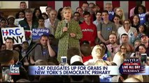 Clinton & Sanders make pitch for New Yorks 247 delegates